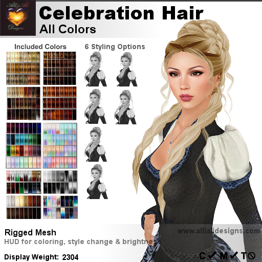 A&A Celebration Hair All Colors