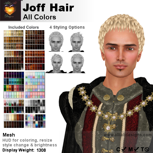 A&A Joff Hair All Colors