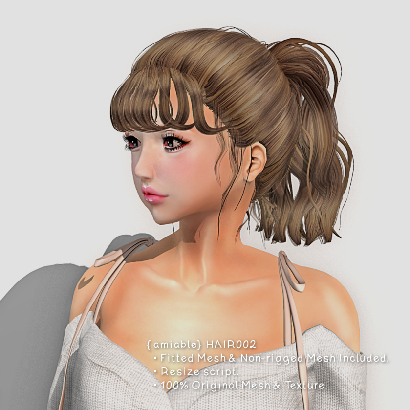 {amiable)Hair002_
