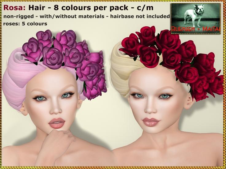 Bliensen + MaiTai Hair - Rosa