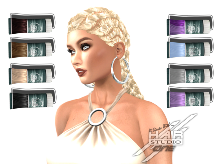 DQ...Fem Cornrows braids lose ( FATPACK ) box