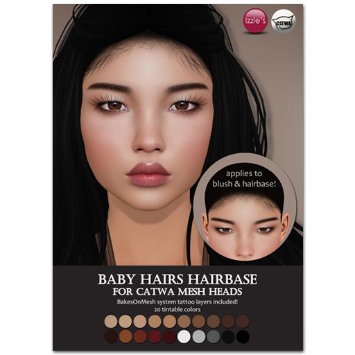 Izzie's Catwa Hairbase