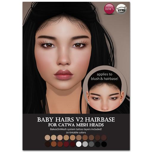 Izzie's Catwa Hairbase2