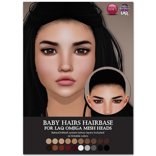 Izzie's Laq Hairbase