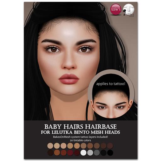 Izzie's LeLutka Hairbase
