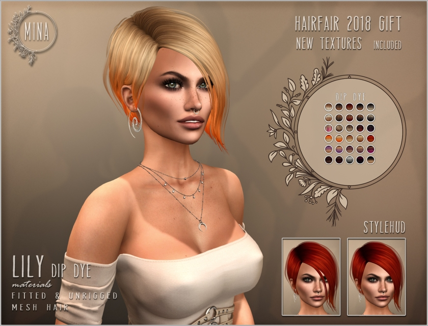 MINA Hair Lily Hairfair 2018 gift