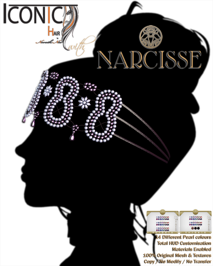 Narcisse Clio Headpiece Ad 1024