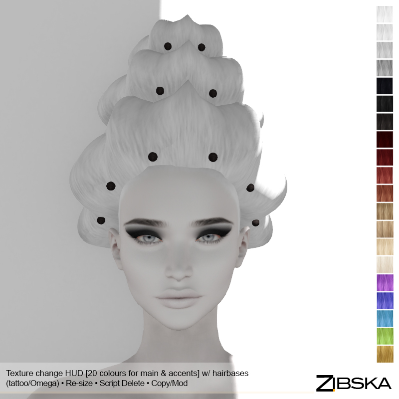 Zibska for Hair Fair 2018 _ Harpalyke