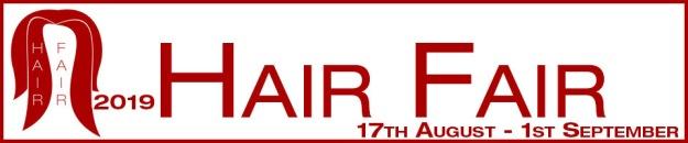 Hair Fair 2019 Banner