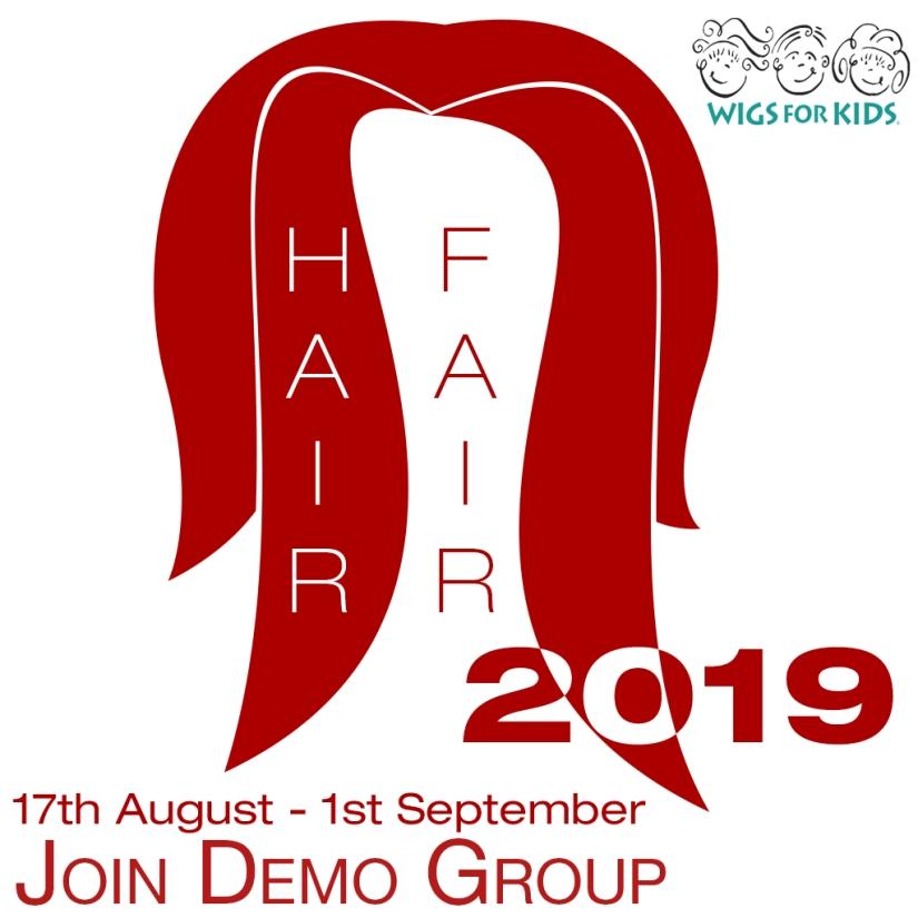 Hair Fair Logo 2019 Join Demo Group