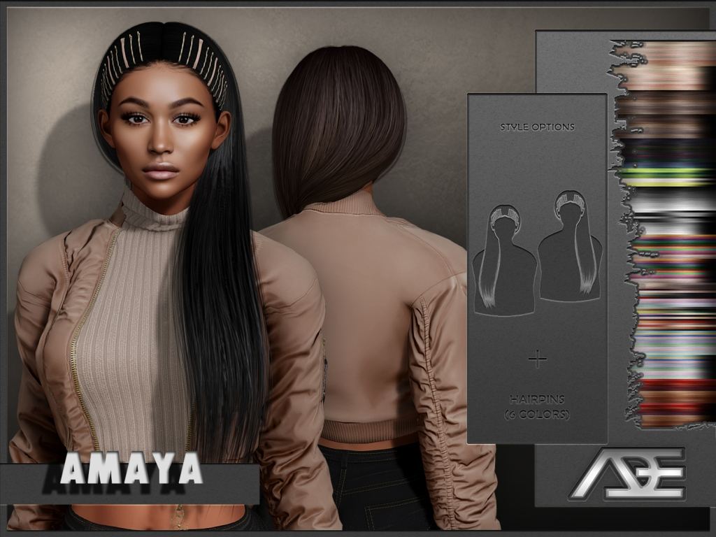This image has an empty alt attribute; its file name is ade-amaya-hairstyle.jpg