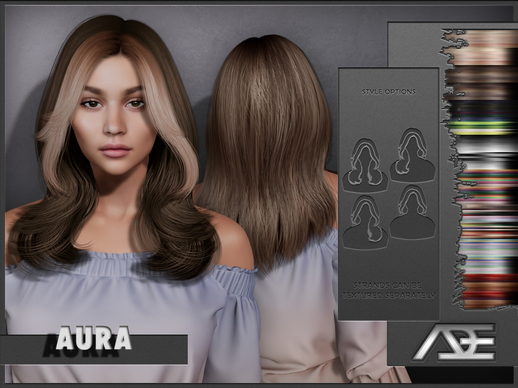 This image has an empty alt attribute; its file name is ade-aura-hairstyle.jpg