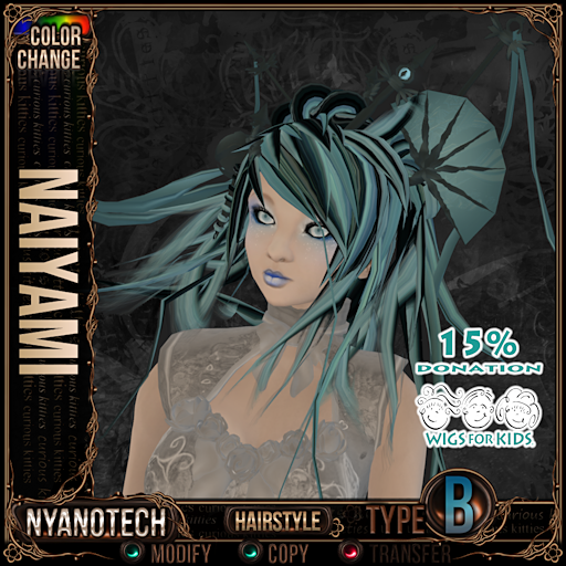This image has an empty alt attribute; its file name is curious-kitties-nyanotech-hairstyle-naiyami.png