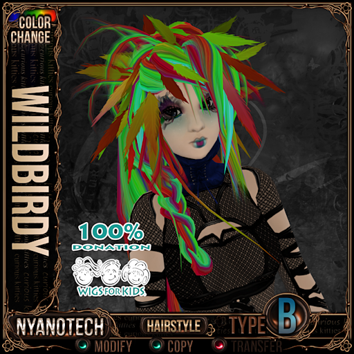 This image has an empty alt attribute; its file name is curious-kitties-nyanotech-hairstyle-wildbirdy.png