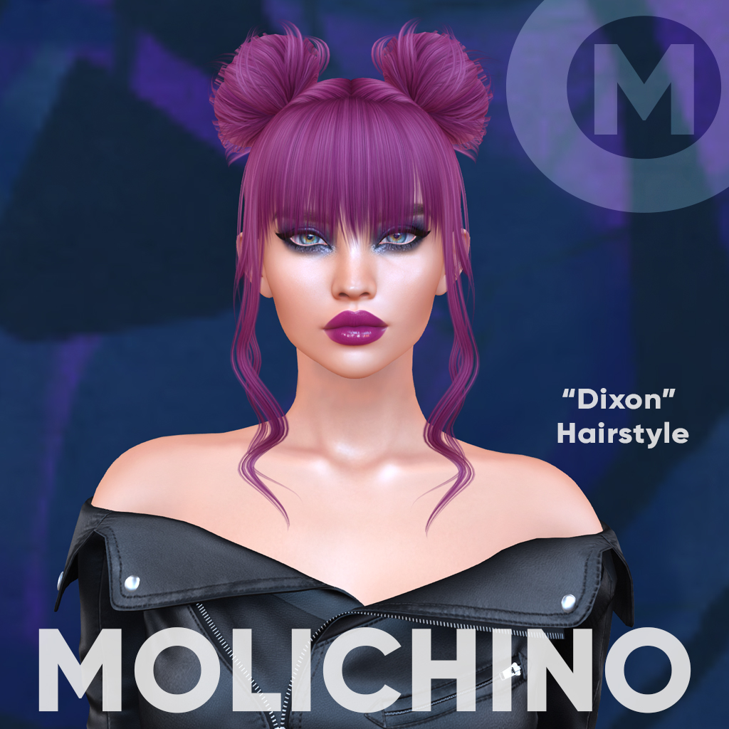 This image has an empty alt attribute; its file name is molichino_dixon_hairstyle_ad.jpg