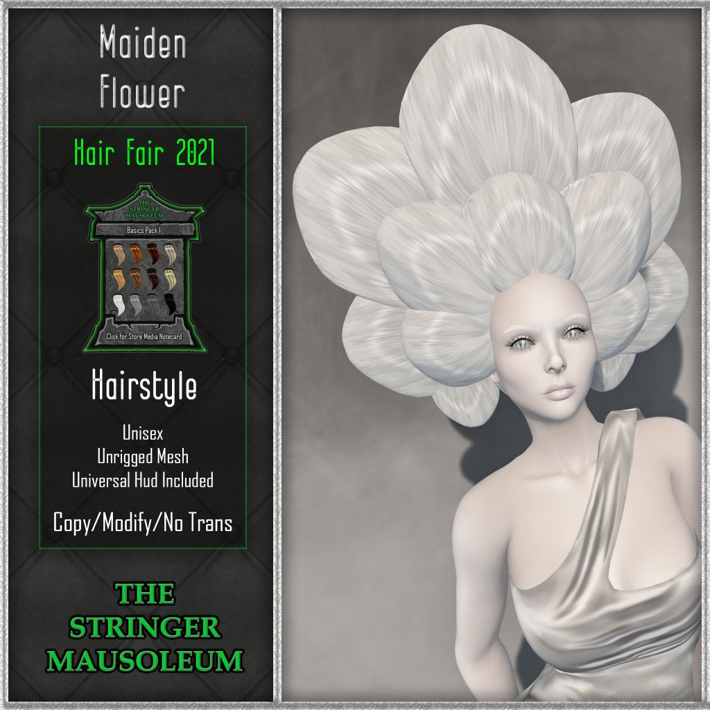 This image has an empty alt attribute; its file name is the-stringer-mausoleum-hf2021-maiden-flower.jpg